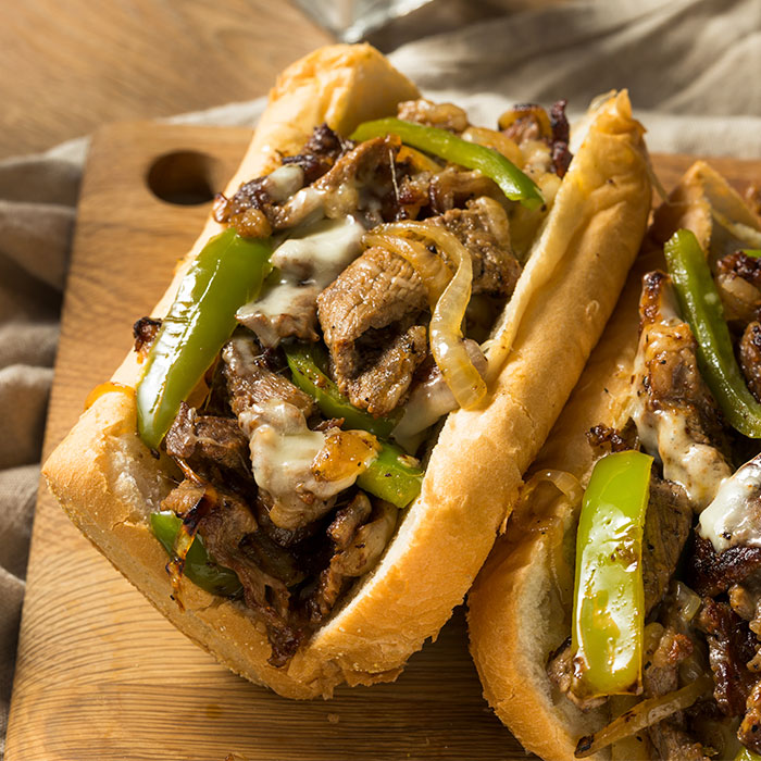 Calzone Philly Cheesesteak